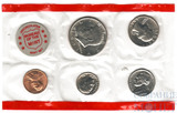 Годовой набор монет США, 1971 г., монетный двор D
