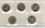 Набор квотеров (25 центов) США, 1999 г.