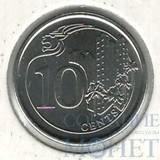 10 центов, 2013 г., Сингапур