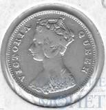 10 центов, серебро, 1898 г., Гонг-Конг(Королева Виктория)