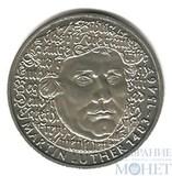 "5 марок, 1983 г., ФРГ, ""Мартин Лютер"""