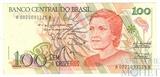 100 крузейро, 1989 г., Бразилия
