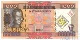 1000 франков, 1998 г., Гвинея