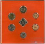Монеты в обращении 1992 г. (монеты разных монетных дворов)