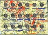 """Набор пятирублевых монет """"70 лет победы в Великой отечественной войне"""" в альбоме, 18 шт."""
