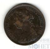 1/2 пенни, 1883 г.,  Великобритания, Королева Виктория