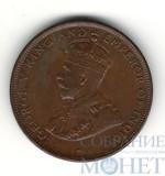 1 цент, 1912 г., Цейлон