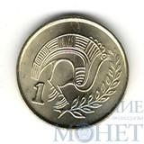 1 цент, 1996 г., Кипр, UNC