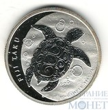1 доллар, 1/2 унции серебра, 2012 г., Фиджи