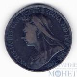 1 пенни, 1897 г., Великобритания, Королева Виктория