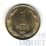 1 песо, 1989 г., Чили, UNC