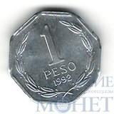 1 песо, 1992 г., Чили, UNC
