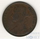 1 пенни, 1887 г., Великобритания
