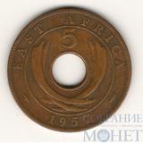 5 центов, 1957 г., Восточная Африка