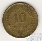 10 сентисимо, 1964 г., Чили