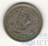 10 центов, 1962 г., Британские карибские территории