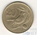 20 центов, 1985 г., Кипр