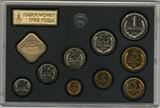 Годовой набор монет ГБ СССР, 1980 г.