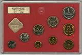 Годовой набор монет ГБ СССР, 1987 г.