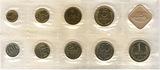 Годовой набор монет ГБ СССР, 1989 г. ЛМД