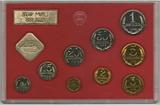 Набор монет ГБ СССР, 1988 г., ЛМД