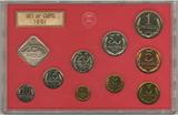 Набор монет ГБ СССР, 1991 г., ЛМД