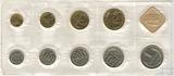 Годовой набор монет ГБ СССР, 1986 г.,