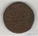 2 копейки, 1757 г., гурт - надпись, Биткин - R