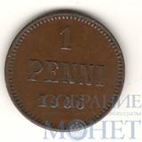 Монета для Финляндии: 1 пенни, 1906 г.