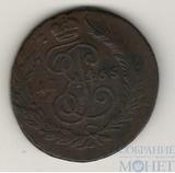2 копейки, 1765 г., СПМ, гурт - сетка