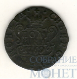 Сибирская монета, полушка, 1769 г., Биткин - R