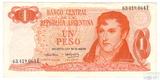 1 песо, 1970-1973 гг.., Аргентина