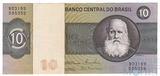 10 крузейро, 1970 - 1980 гг., Бразилия