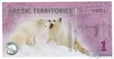 1 доллар, 2012 г., Арктические территории