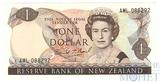 1 доллар,1981-1992 гг.., Новая Зеландия