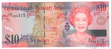 10 долларов, 2010 г., Каймановы острова