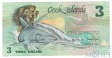 3 доллара, 1987 г., Острова Кука