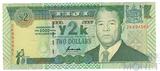 2 доллара, 2000 г., Фиджи