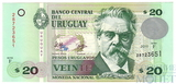20 песо, 2011 г., Уругвай