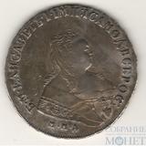 1 рубль, серебро, 1750 г., ММД