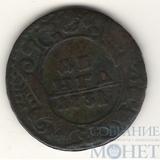 """Деньга 1731 г., Биткин - R, """"одна черта"""""""