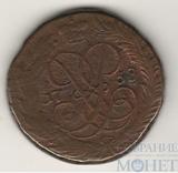 """2 копейки, 1758 г.,""""надпись сверху"""", гурт - надпись"""