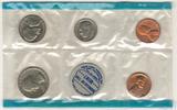 Годовой набор монет США, 1968 г., монетный двор P
