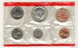 Годовой набор монет США, 1968 г., монетный двор D