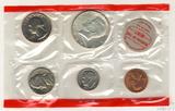 Годовой набор монет США, 1969 г., монетный двор D