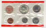 Годовой набор монет США, 1970 г., монетный двор D