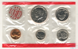 Годовой набор монет США, 1972 г., монетный двор D