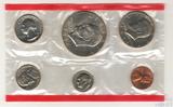Годовой набор монет США, 1974 г., монетный двор D