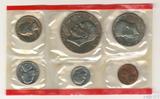 Годовой набор монет США, 1976 г., монетный двор D