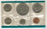 Годовой набор монет США, 1977 г., монетный двор P